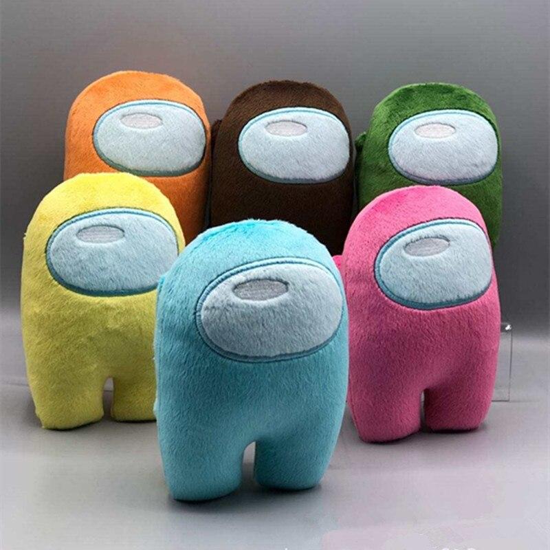 6pcs/set Among Us Plush Toys Animal Among Us Game Stuffed Doll 12 Color Factory Supplier